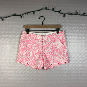 Lilly Pulitzer | Pink and White Buttercup Shorts 2
